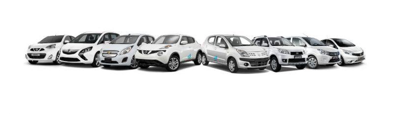 drakakis rent-a-car Fleet