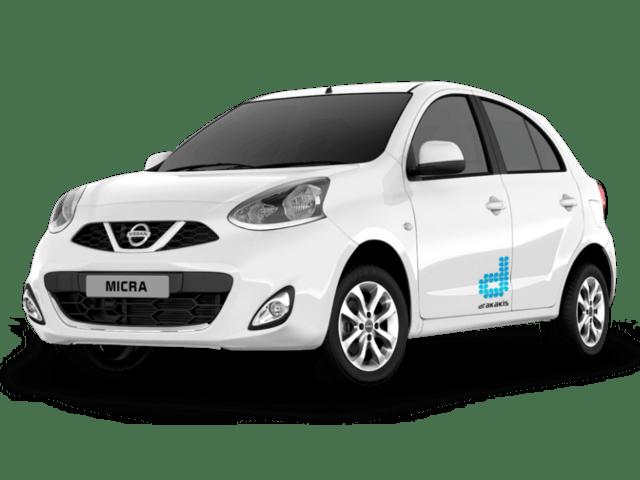 drakakis rent-a-car Nissan Micra