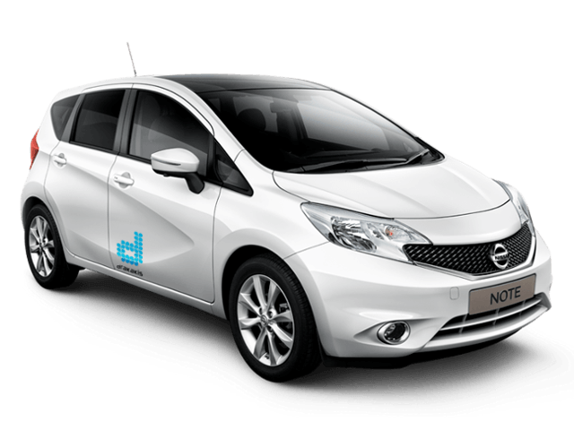 drakakis rent-a-car Nissan Note