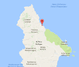 Kalamitsi Kythira Map