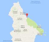 Limni Kakia Lagada Kythira Map