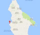 Limnionas Kythira Map