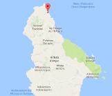 Platia Ammos Kythira Map