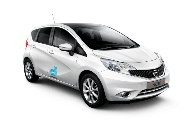 drakakis rent-a-car Nissan Note