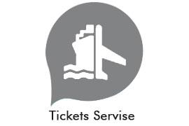 air tickets ferry tickets